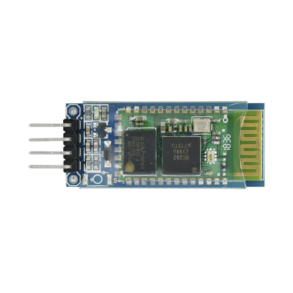 New Wireless Serial 4 Pin Bluetooth RF Transceiver Module HC-06 RS232 Backplane