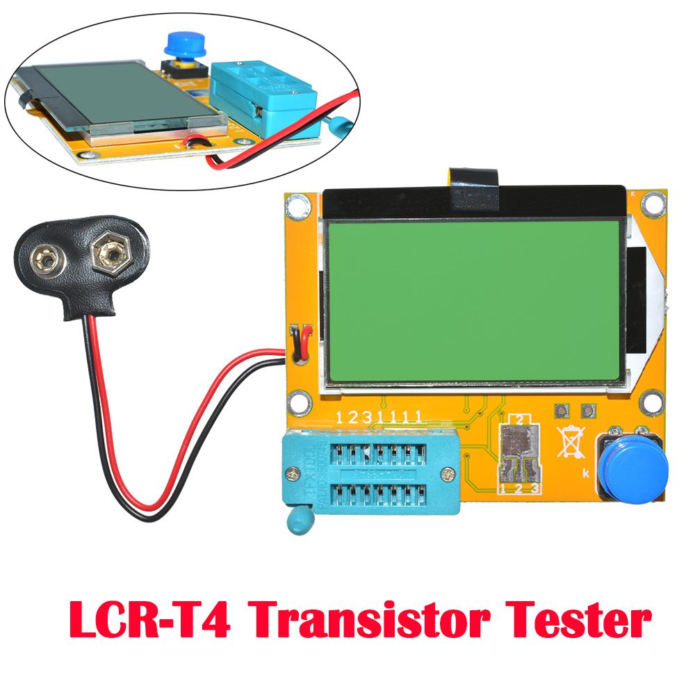 New LCR-T4 Mega328 Transistor Tester Diode//Triode Capacitance ESR Meter MOS Part