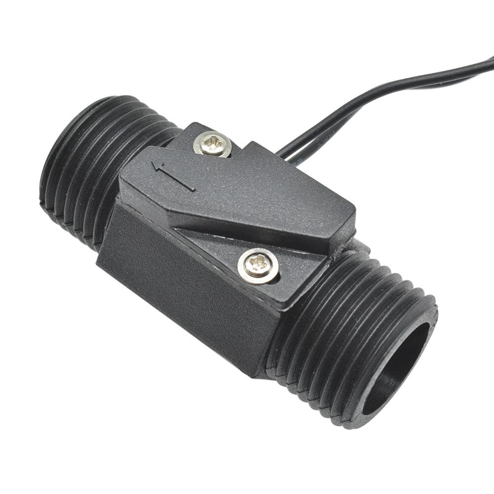 AC 220V 3A 22mm Plastic Vertical Horizontal Magnetic Water Flow Switch w//Sensor