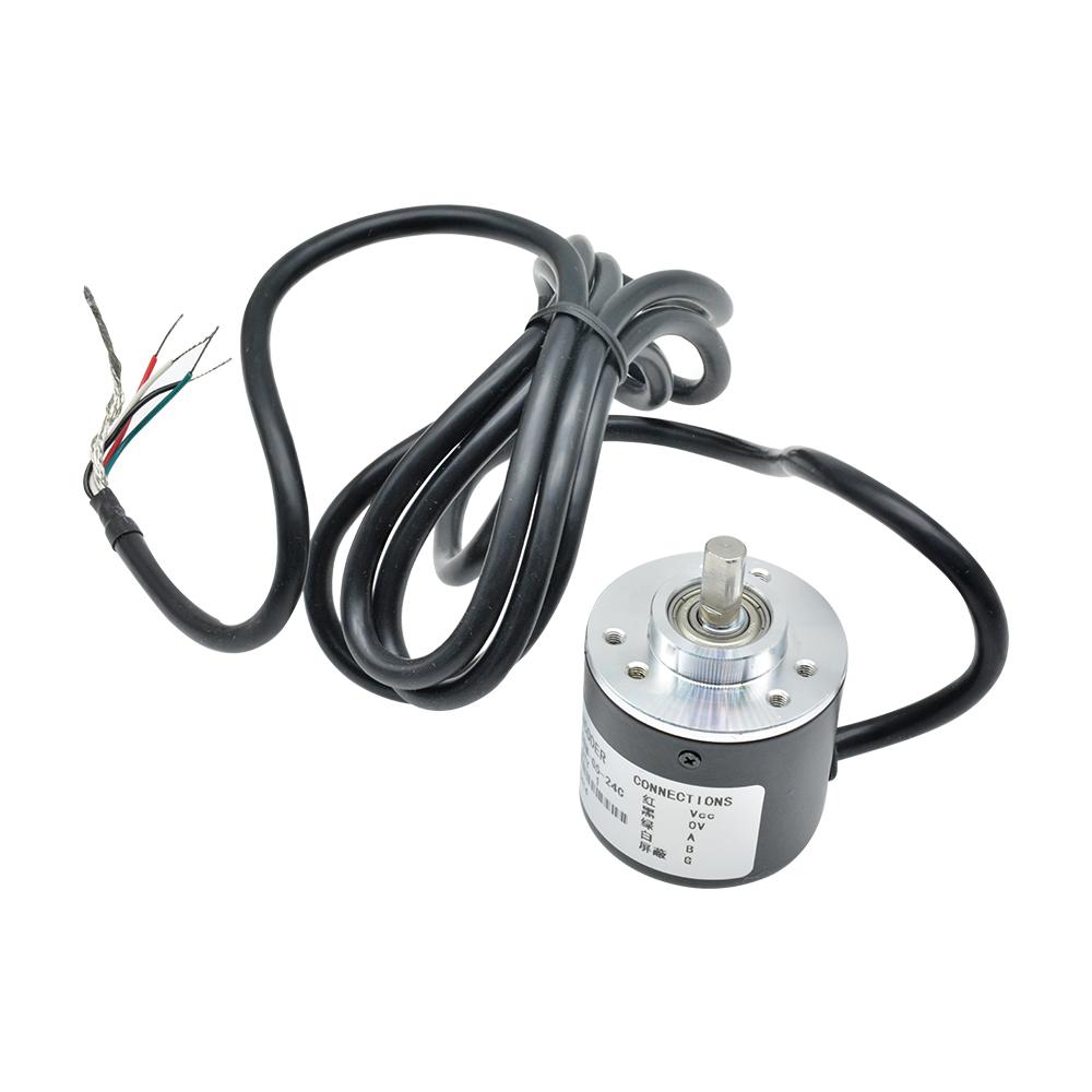 360//600P//R Photoelectric Incremental Rotary Encoder 5V-24V AB Two Phases Shaft M