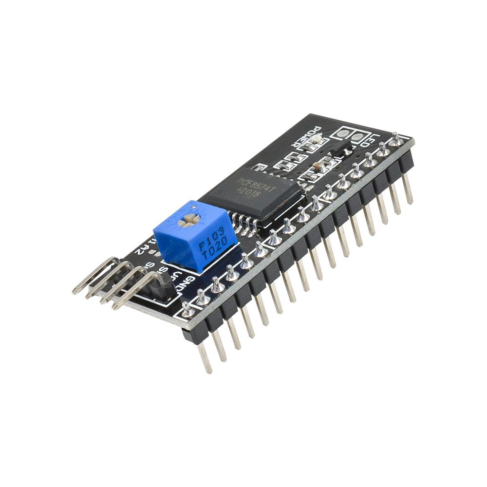 1Pc Arduino IIC I2C TWI SPI Serial Interface Board Port 1602  2004 LCD Ad FS/_EO