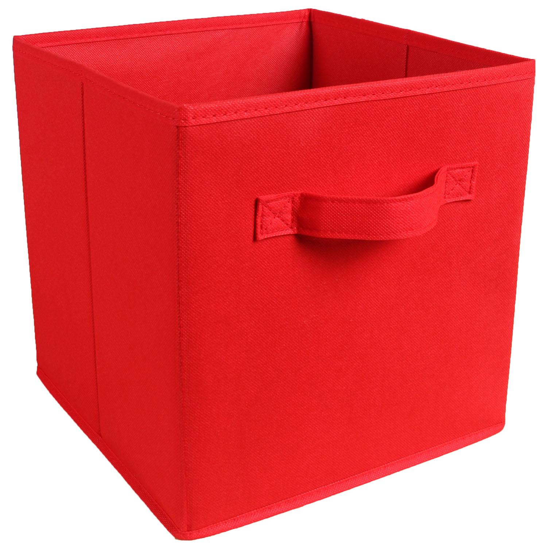 Square Collapsible Canvas Storage Box Foldable Kids Toys: Foldable Square Canvas Storage Collapsible Folding Box