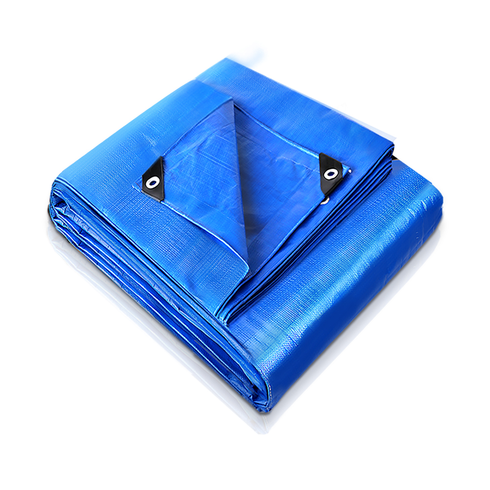 6Sizes Heavy Duty Tarpaulin Trap Waterproof Outdoor Ground Cover Sheet Camp Tent