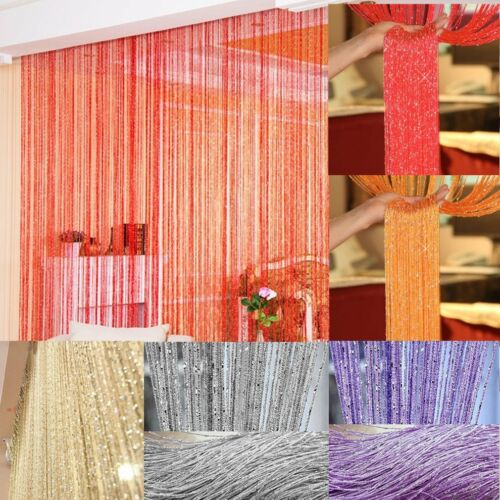 String Bead Curtains Patio Net Fringe