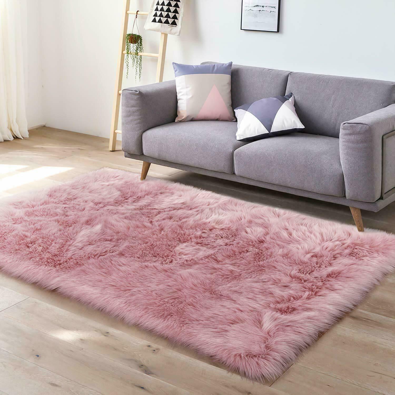 Plush Soft Fluffy Faux Fur Sheepskin