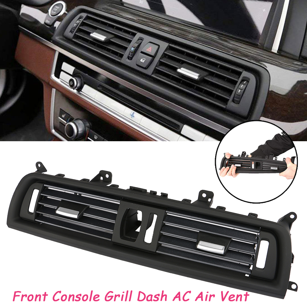 Front Console Dash AC Air Vent Grille Cover for BMW 520i 528i 535i 2010-2016 New