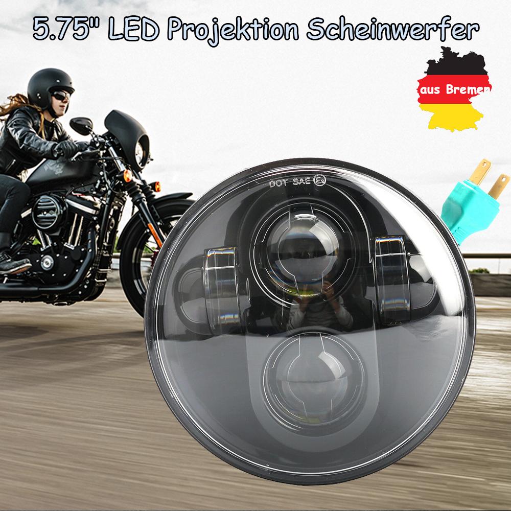 """5.75/""""  Hi//Low Frontscheinwerfer LED Projektion Scheinwerfer für Motorrad Harley"""