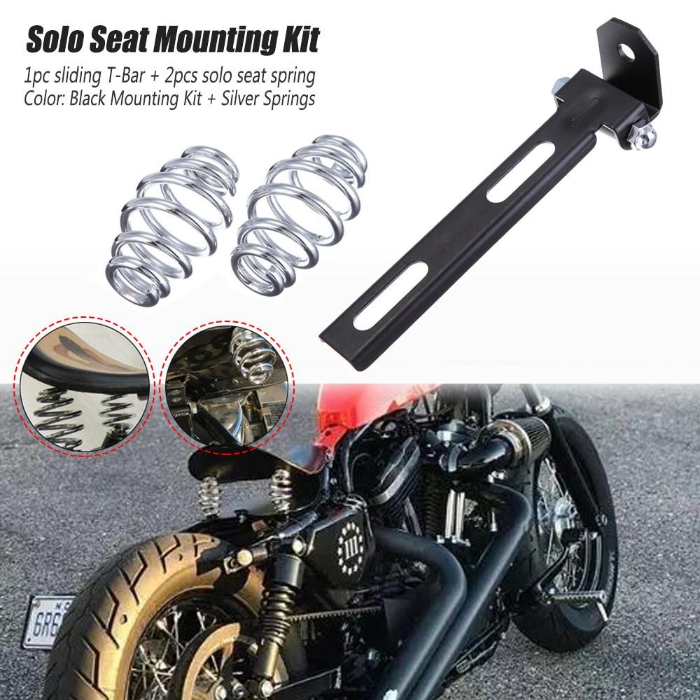 "Motorcycle 3/"" Solo Bracket Seat Springs Fit Sportster Chopper Bobber Custom"