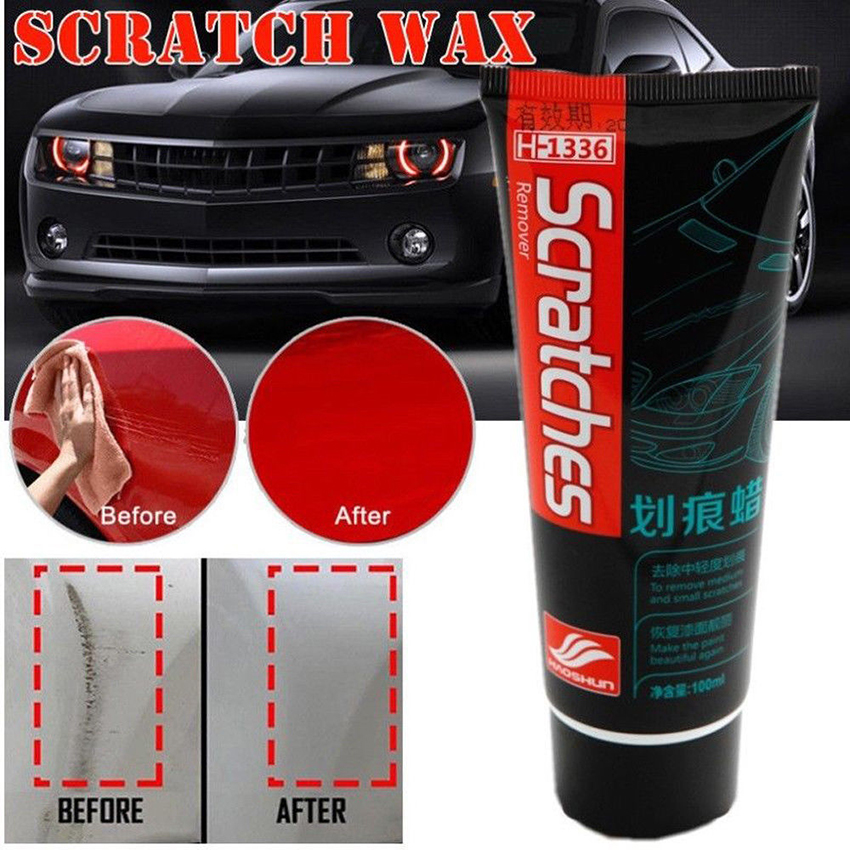 Details About Car Auto Scratch Repair Kit Polishing Wax Cream Paint Scratch Remover Care 100ml