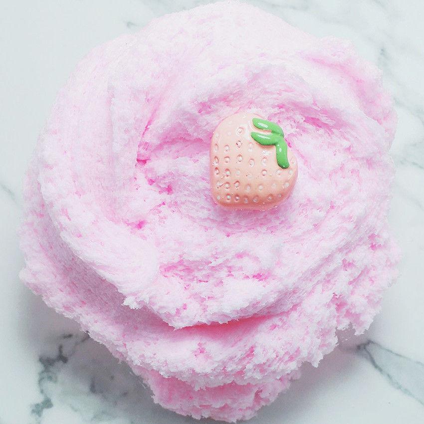 Parfumée fraise Floam boues Moelleux Slime boue fruit Charm Cloud