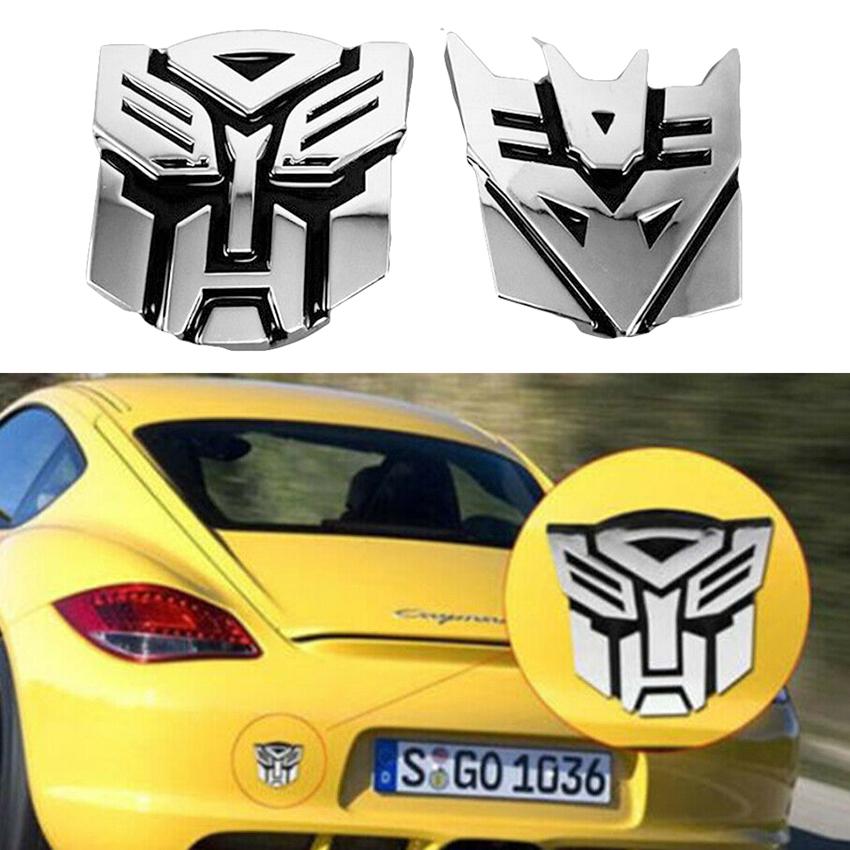 3D Car Sticker Logo Autobot Transformers Emblem Badge Graphics Decal Protector h