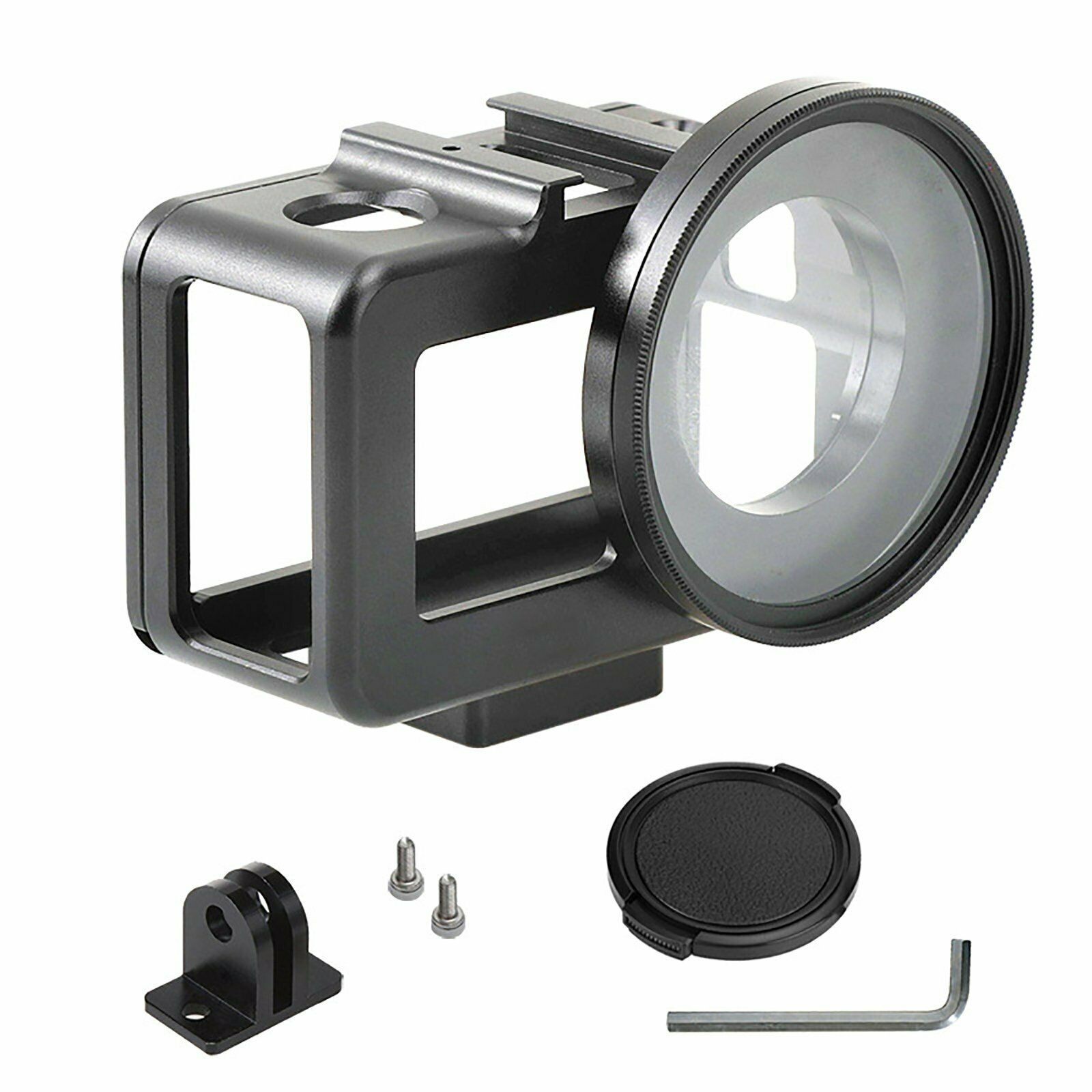For DJI OSMO Action Cam Metal Rabbit Cage Protective Case Sh