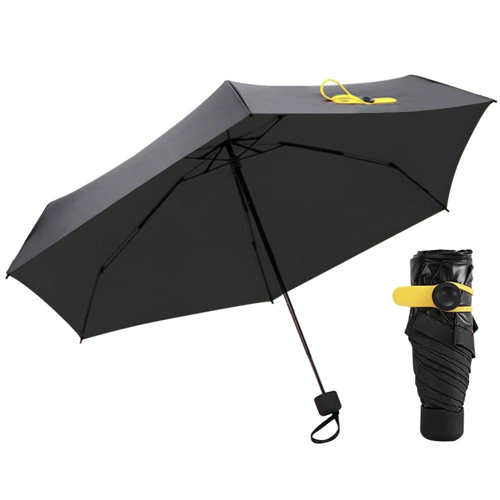 women mini folding sun rain pocket umbrella parasol. Black Bedroom Furniture Sets. Home Design Ideas