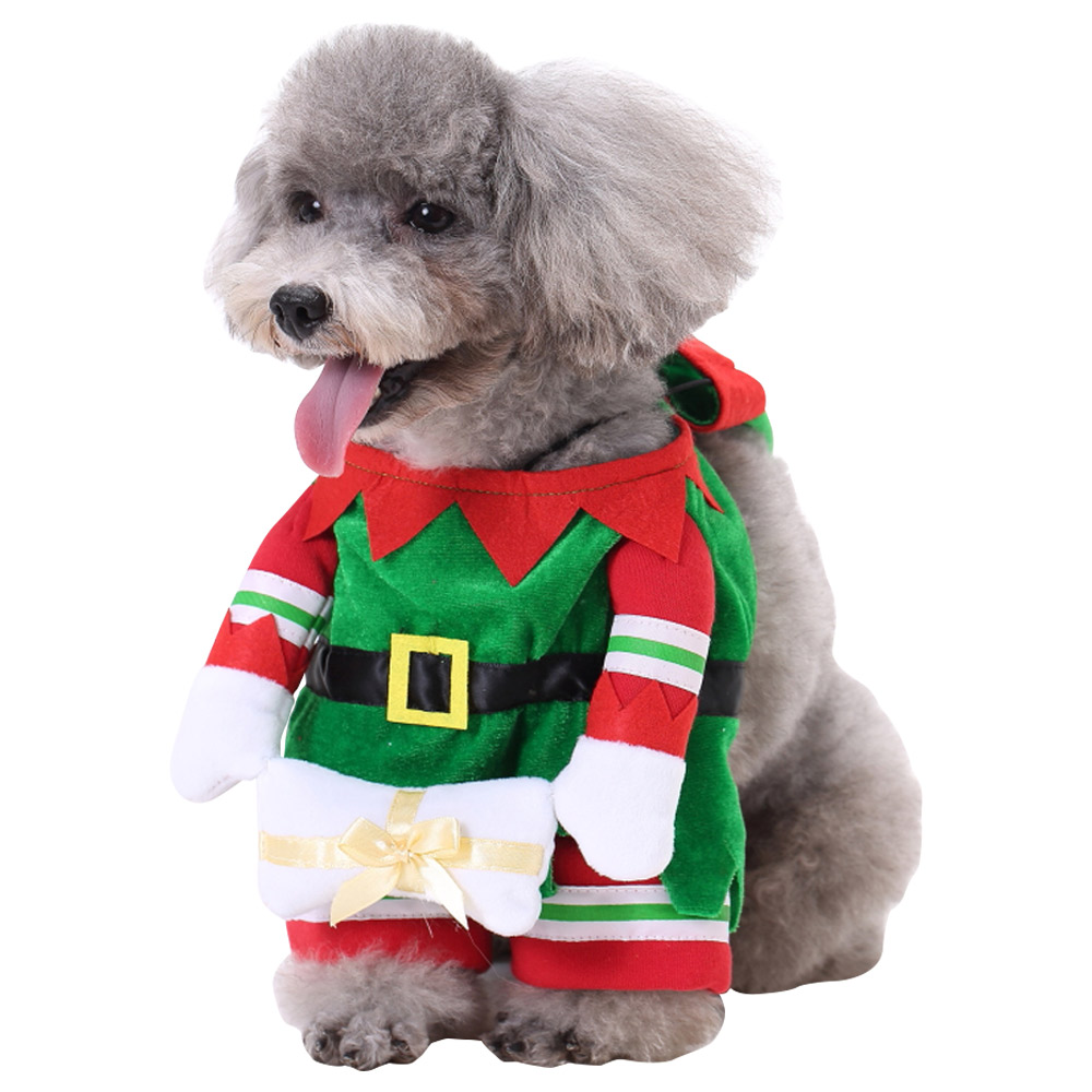 PET DOG CAT CHRISTMAS HALLOWEEN SHOW PARTY FANCY DRESS COSTUME OUTFIT CLOTHES 11
