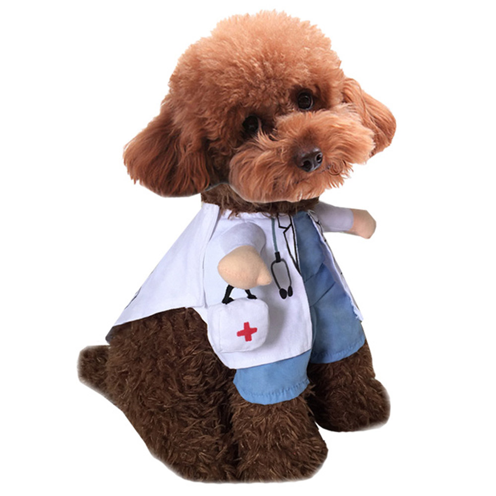 PET DOG CAT CHRISTMAS HALLOWEEN SHOW PARTY FANCY DRESS COSTUME OUTFIT CLOTHES 13