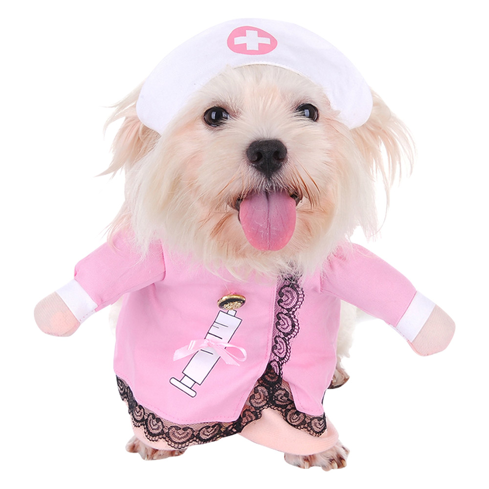PET DOG CAT CHRISTMAS HALLOWEEN SHOW PARTY FANCY DRESS COSTUME OUTFIT CLOTHES 8