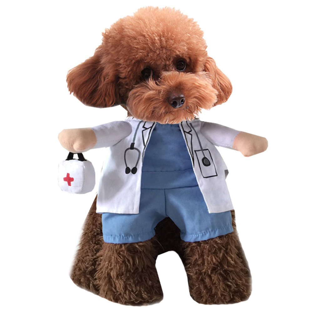 PET DOG CAT CHRISTMAS HALLOWEEN SHOW PARTY FANCY DRESS COSTUME OUTFIT CLOTHES 7