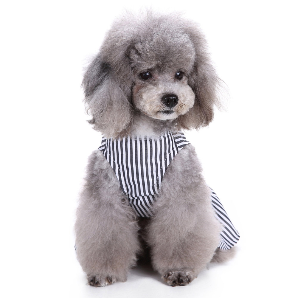 Pet Clothes Puppy Tshirt Adorable Dog Dresses Small Dogs Shirt Printed Costume 13