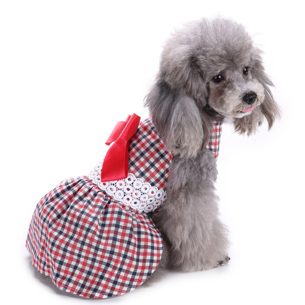 Pet Clothes Puppy Tshirt Adorable Dog Dresses Small Dogs Shirt Printed Costume 9