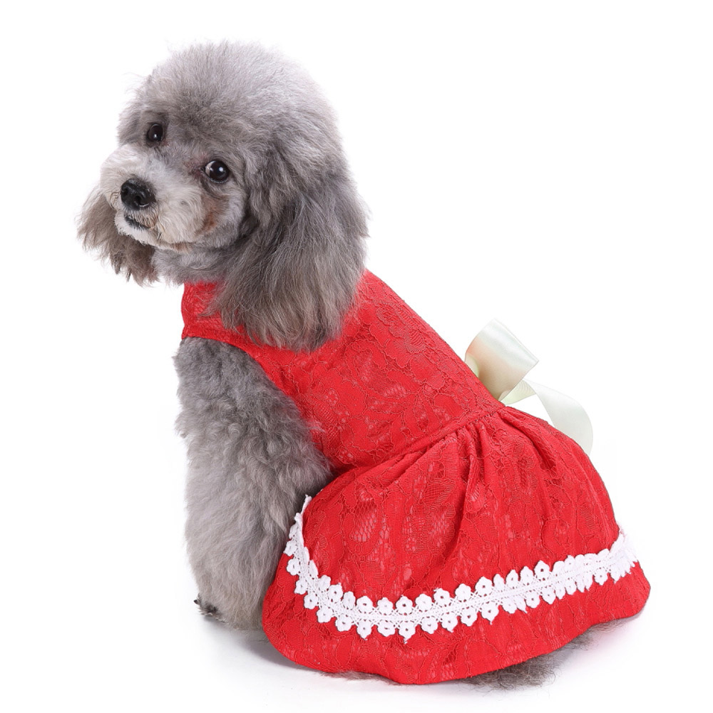 Pet Clothes Puppy Tshirt Adorable Dog Dresses Small Dogs Shirt Printed Costume 11