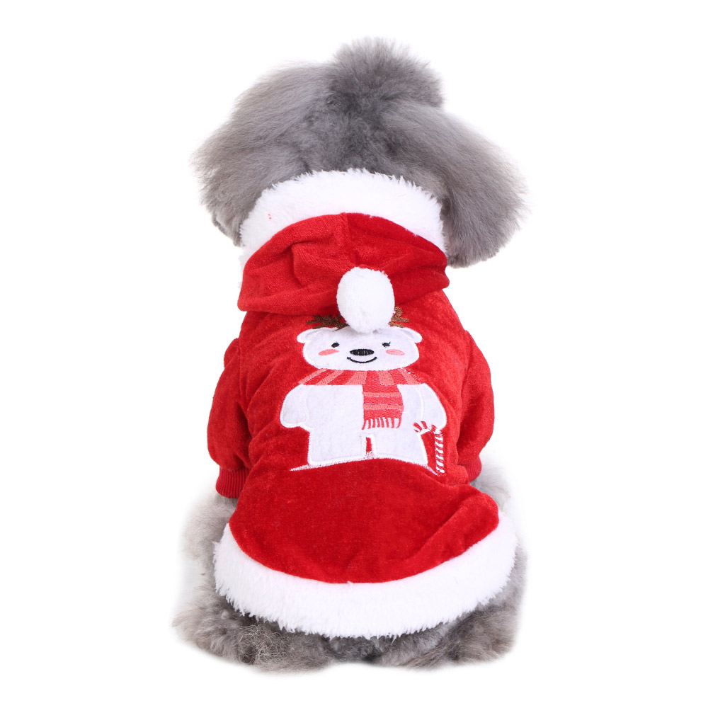 Halloween Xmas Pet Costume Dog Cat Cute Cosplay Fancy Dress Puppy Outfit Clothes 12