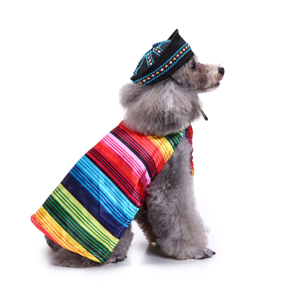 Pet Dog Cat Fun Fancy Dress Costume for Christmas Halloween Party Outfit Clothes 12
