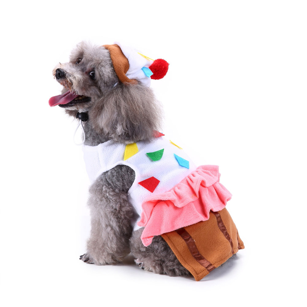 Halloween Xmas Pet Costume Dog Cat Cute Cosplay Fancy Dress Puppy Outfit Clothes 28