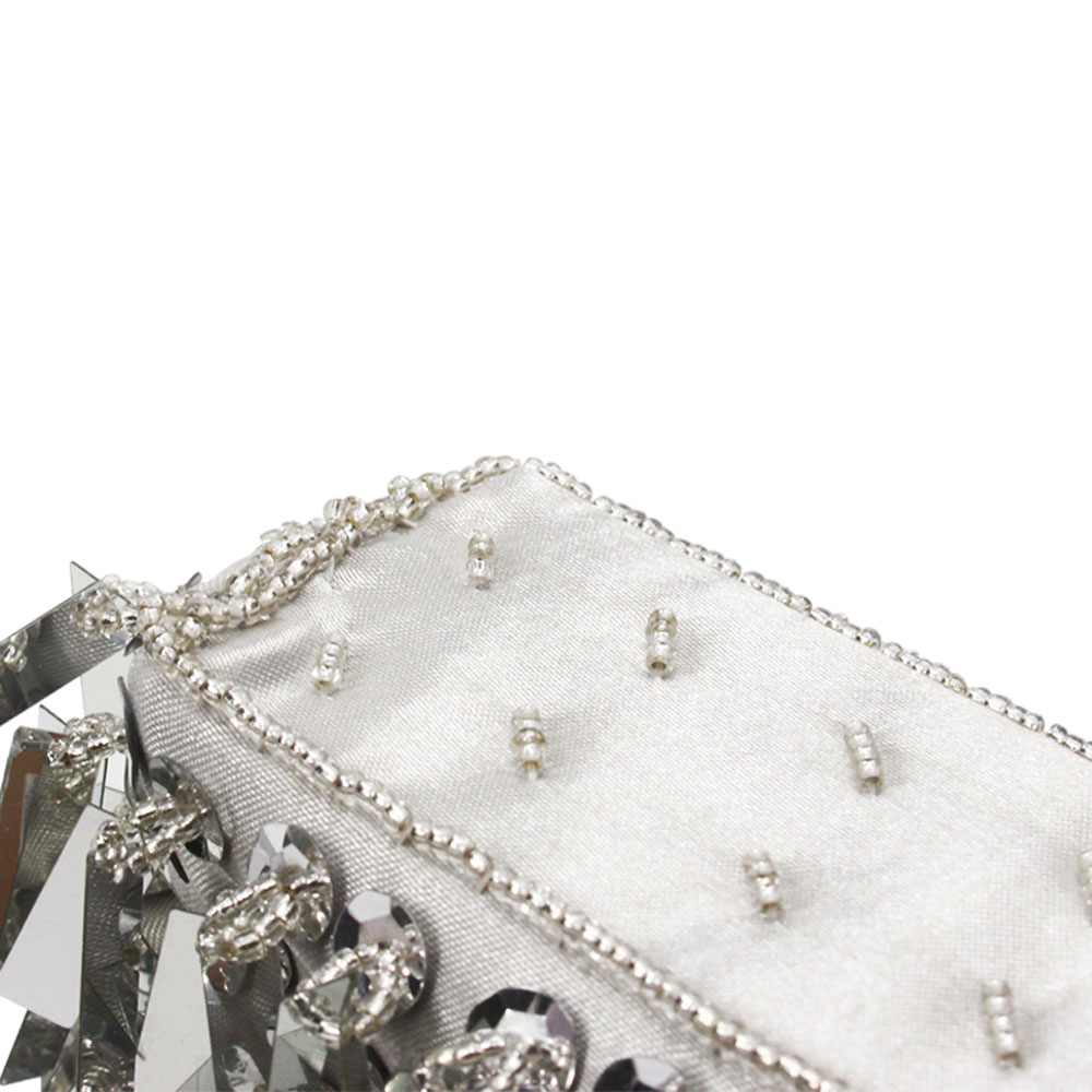 Dazzling Glitter Women Evening Handbag Wedding Dinner Metal Day Clutch Purse Bag
