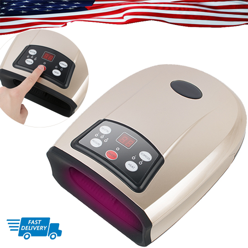 Electric Hand Palm Finger Massager Acupressure Air ...