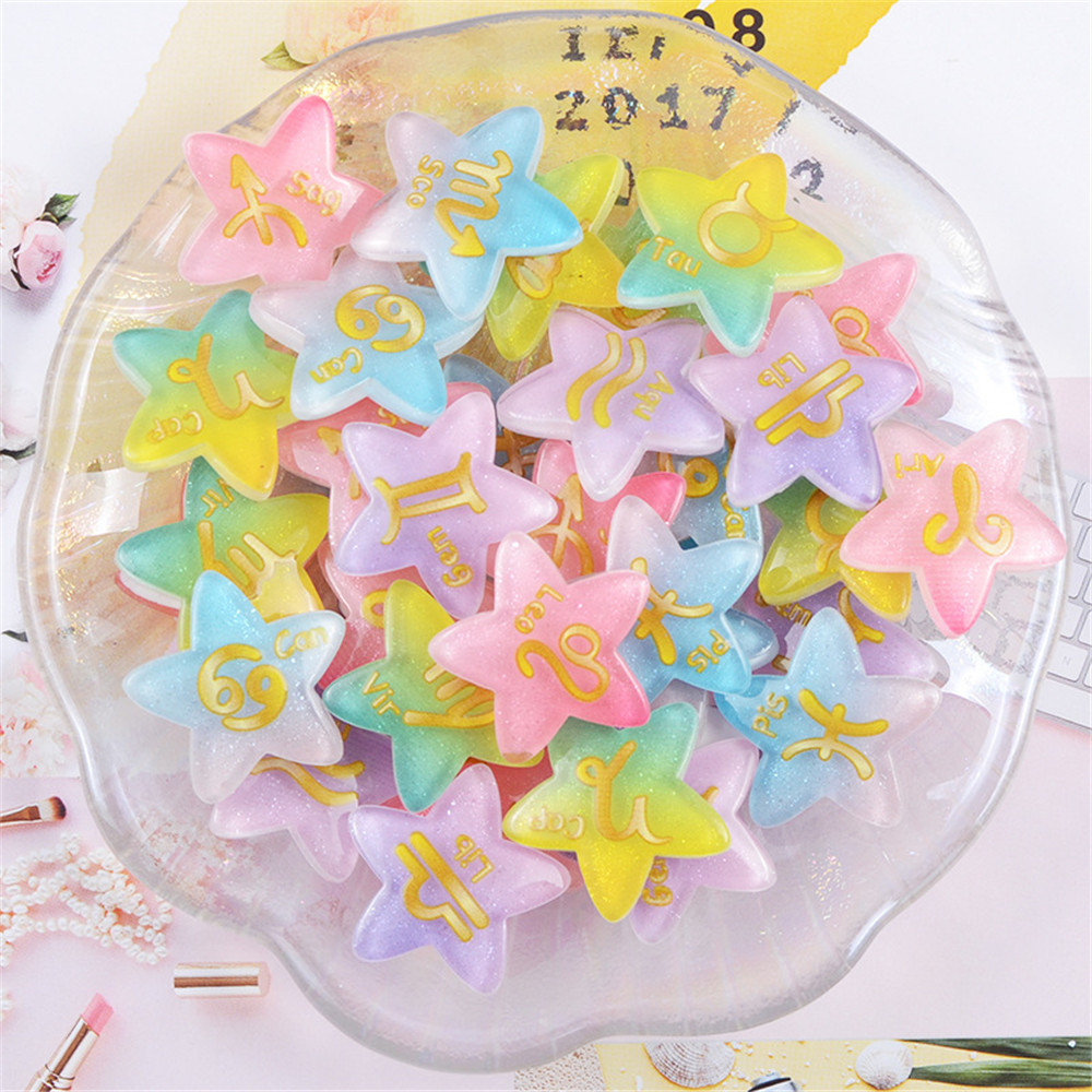 10 pcs DIY Mixed Resin Princess Girls Craft Decoration 2cm Flatbacks Cabochons