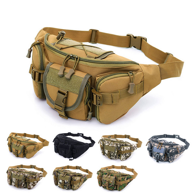 90dec8ee0d35 Details about Mens Tactical Military Crossbody Shoulder Bag Chest Pack  Camping Hiking Backpack
