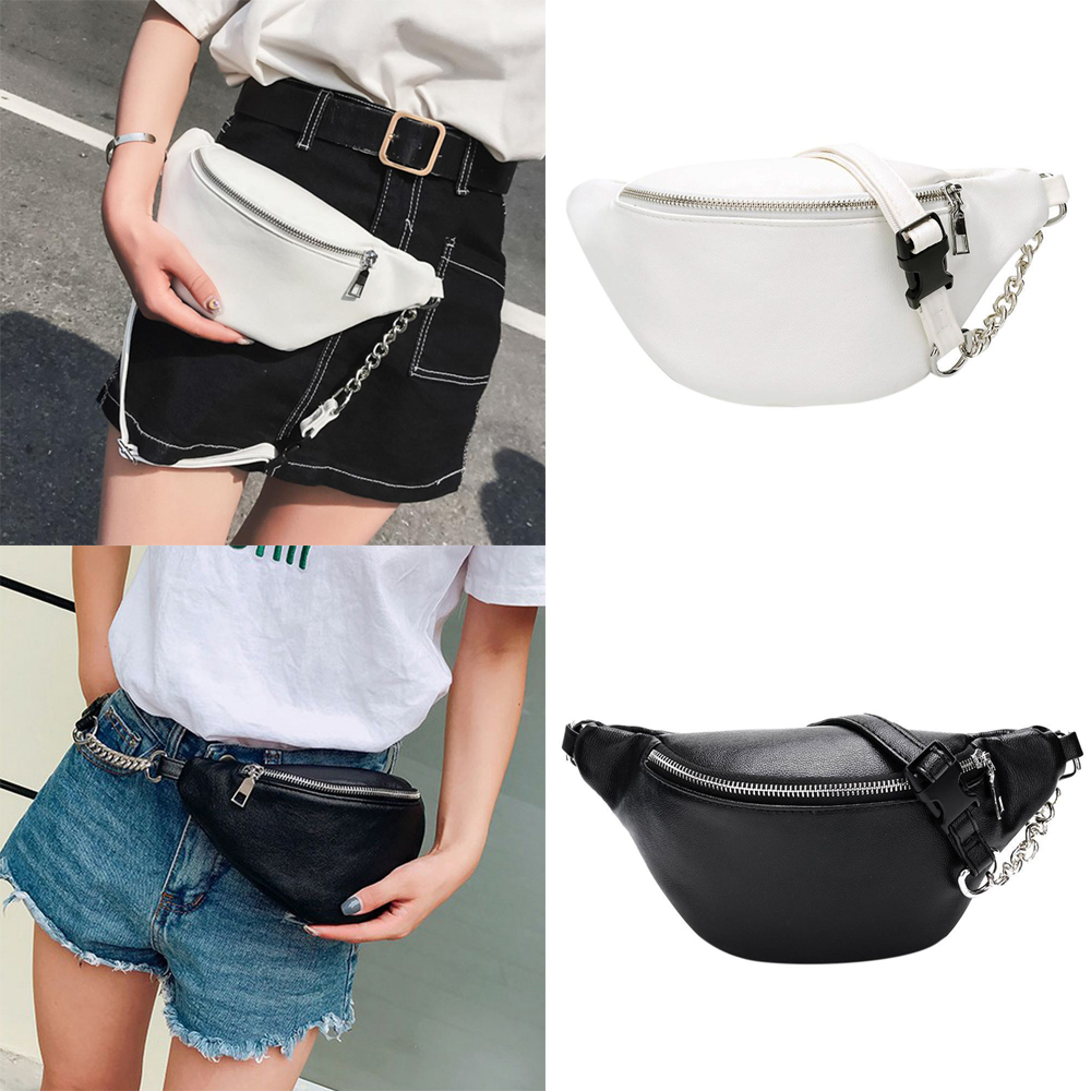 74660524dc Women Waist Fanny Pack Holiday money Belt Wallet Bum Travel Bag ...