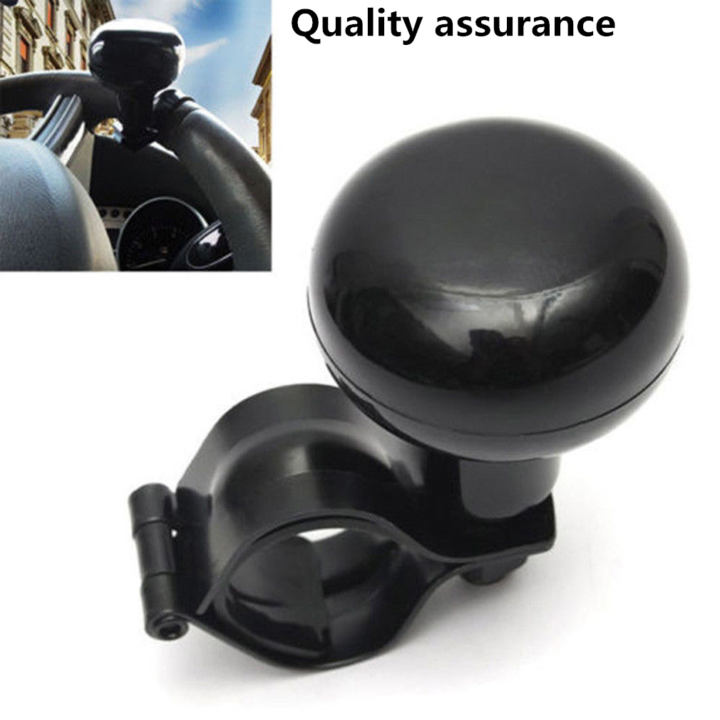 Car Steering Wheel Aid Power Handle Assist Spinner Knob Ball Metal+plastic Us Atv,rv,boat & Other Vehicle Electric Vehicle Parts