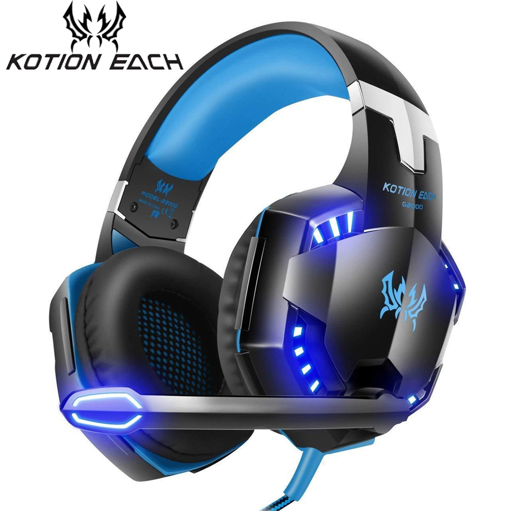 Usa Kotion Each G9000 35 Led Gaming Headphone Stereo Headset For Pc