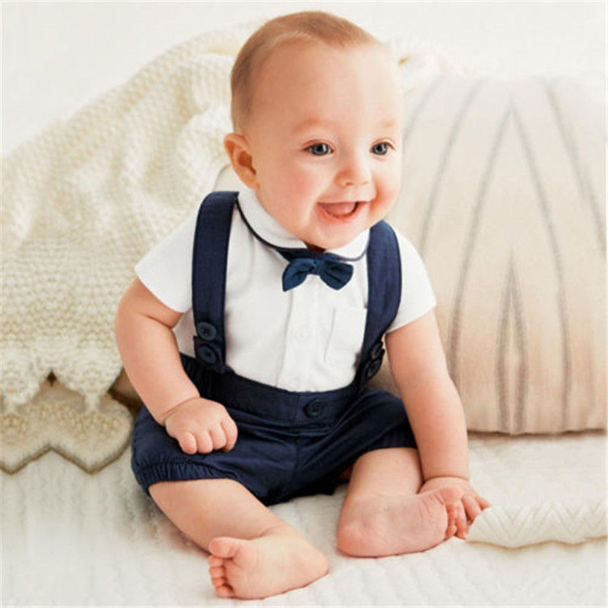 details about us toddler kids baby boy formal suit party wedding tuxedo  gentleman 2pcs outfit