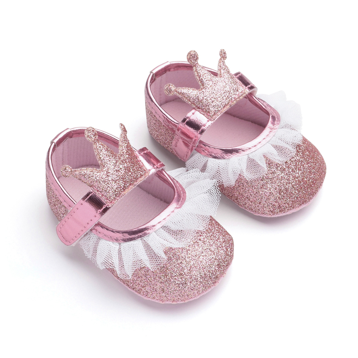 409463bb78 Details about 2019 Toddler Girl Crib Shoes Newborn Baby Bowknot Soft Sole  Prewalker Sneakers