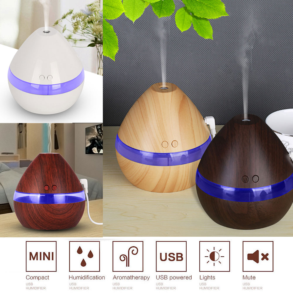 New LED Essential Oil Aroma Diffuser Ultrasonic Humidifier Purifier Aromatherapy
