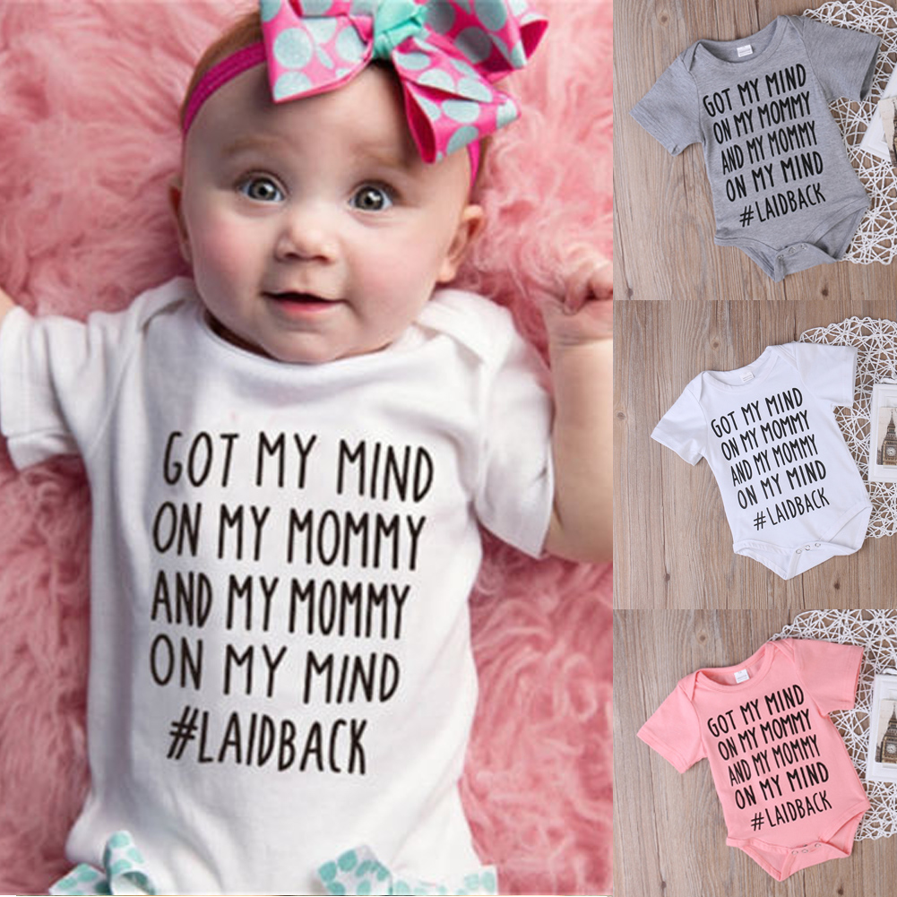 771df72bef08 Details about New Newborn Baby Girl Boy Clothes Romper Jumpsuit Bodysuit  Playsuit Outfits
