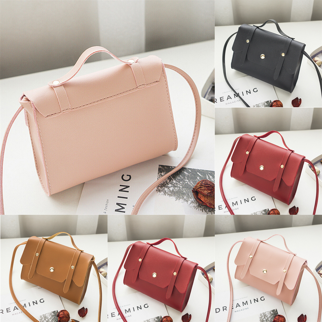 8fa9a67d851b Details about NEW Women Girl Ladies Leather Small Handbag Cross Body  Shoulder Bag Purse Tote