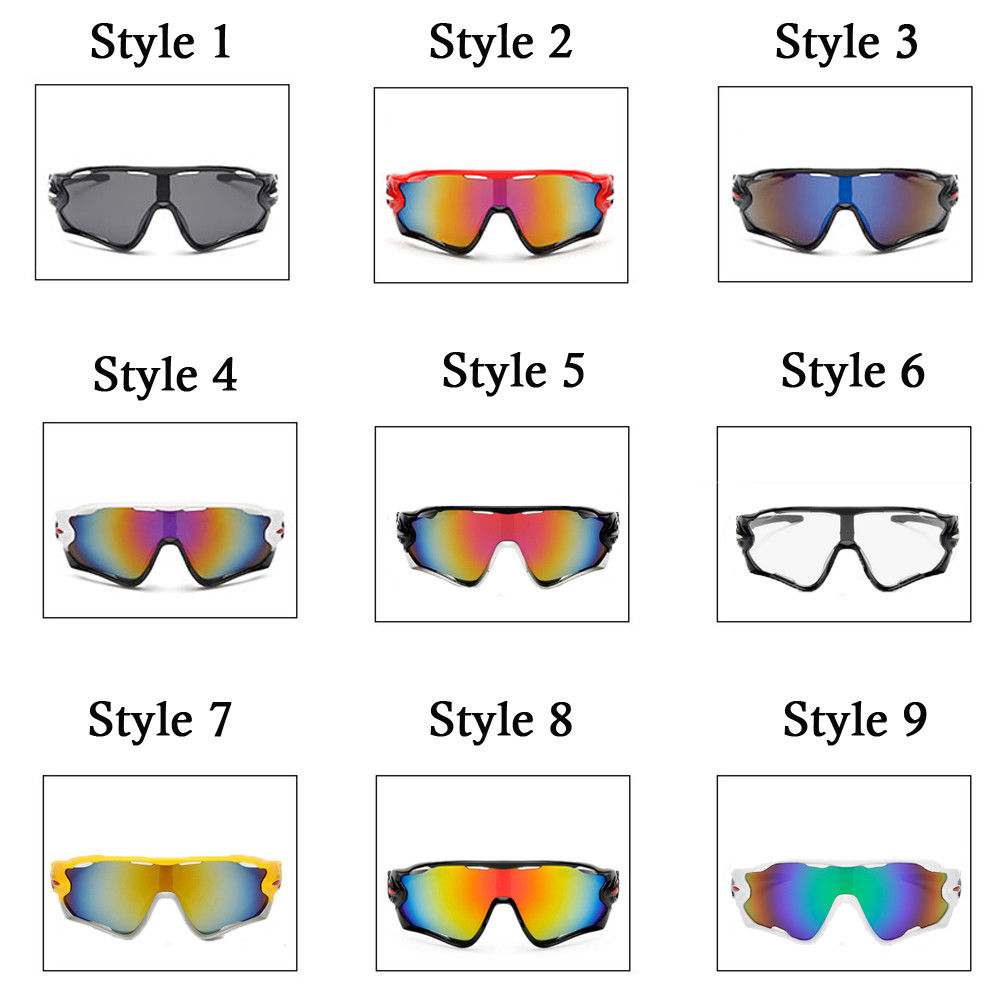 a1d759b3a6c Details about Polarized Cycling Glasses Outdoor Sports Sunglasses Goggles  Eyewear UV400 Lens