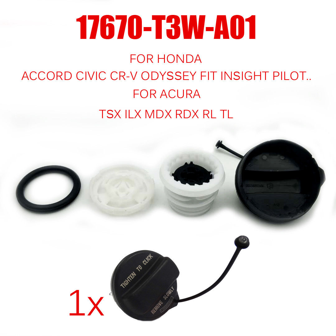 Tank Covers Exterior Parts Oem Gas Fuel Filler Cap For Honda Accord Fit Civic Cr-v Odyssey Pilot Insight Km