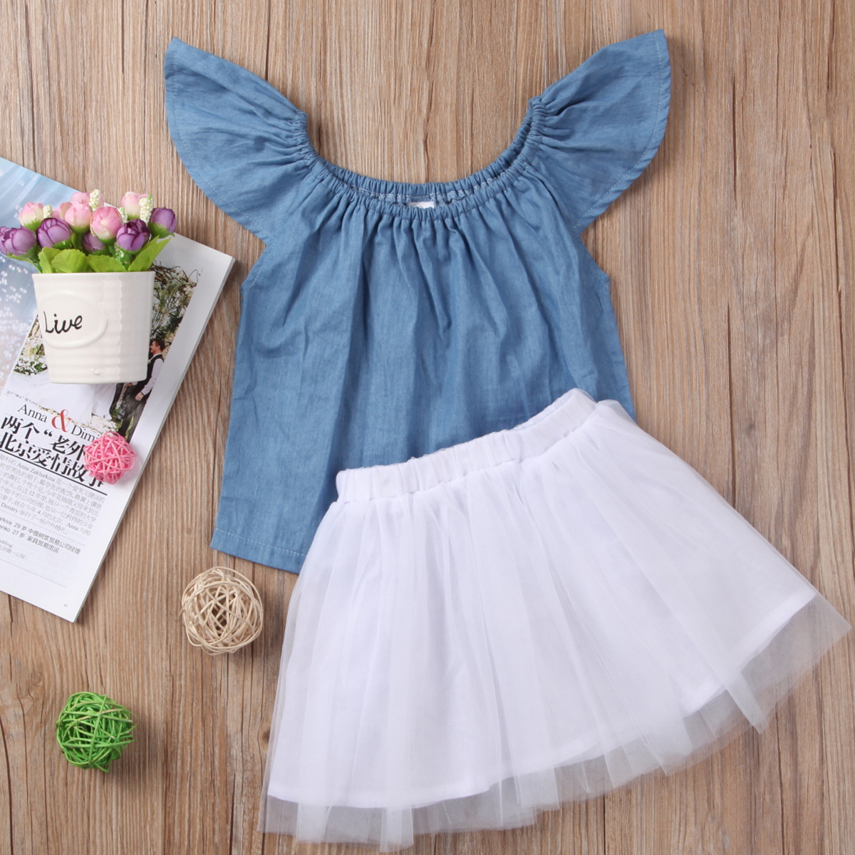 Mother & Kids Reliable Newborn Toddler Baby Girls Floral Short Sleeve Romper Playsuit Tops+tutu Skirt Outfit Set 2pcs Summer Soft And Light Clothing Sets
