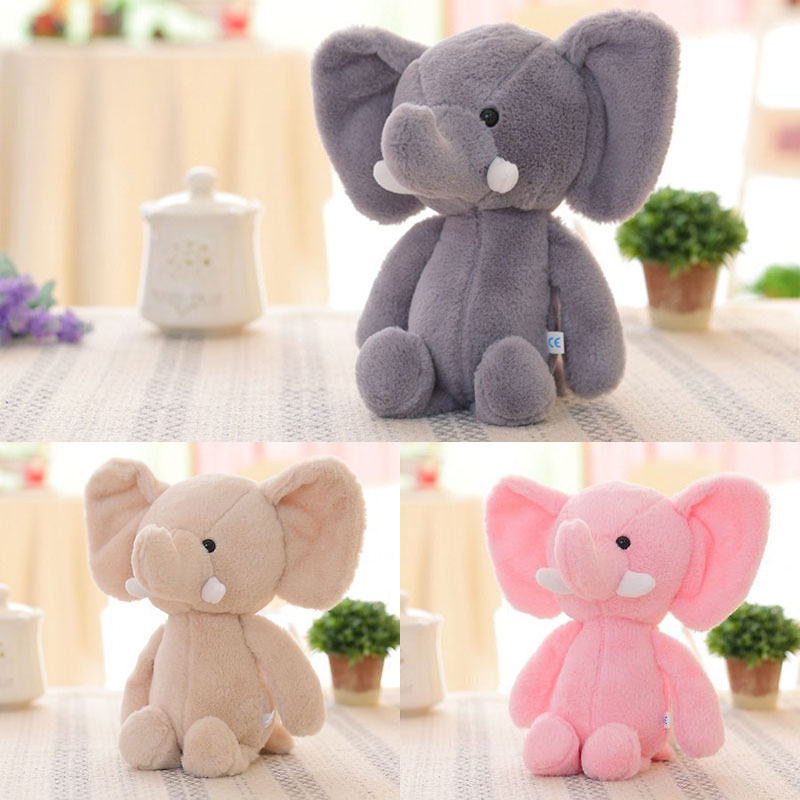 Plush Elephant Baby Kid/'s Cute Animal Soft Toy Mini Stuffed Animals Doll Gift