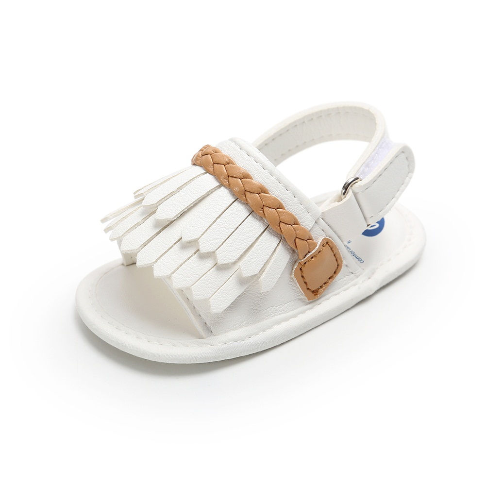 Able Baby Kid Girl Tassels Shoes Sandles Summer Holiday Baby Shoes Infant Prewalker Sandals & Clogs Baby Shoes