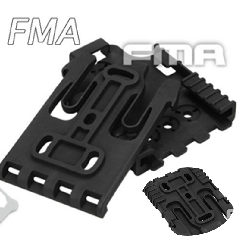 2x FMA Safariland Quick Locking System Kit Holster QLS TB1042 BK//DE