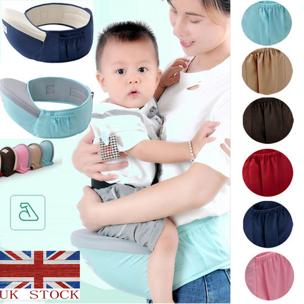 Details about Baby Hip Seat Waist Bench Stool Travel Baby Boy Girl Carrier  Kid Sling Holder UK