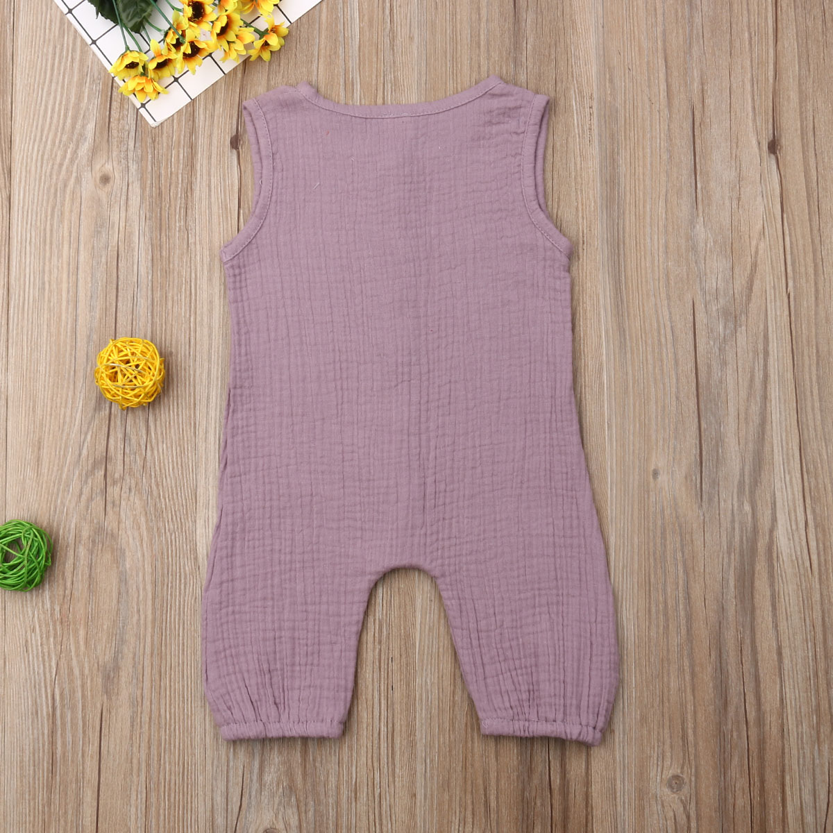 TingM Toddler Newborn Infant Unisex Baby Boy Girl Button Solid Hooded Romper Bodysuit One Piece Jumpsuit Outfits Clothes