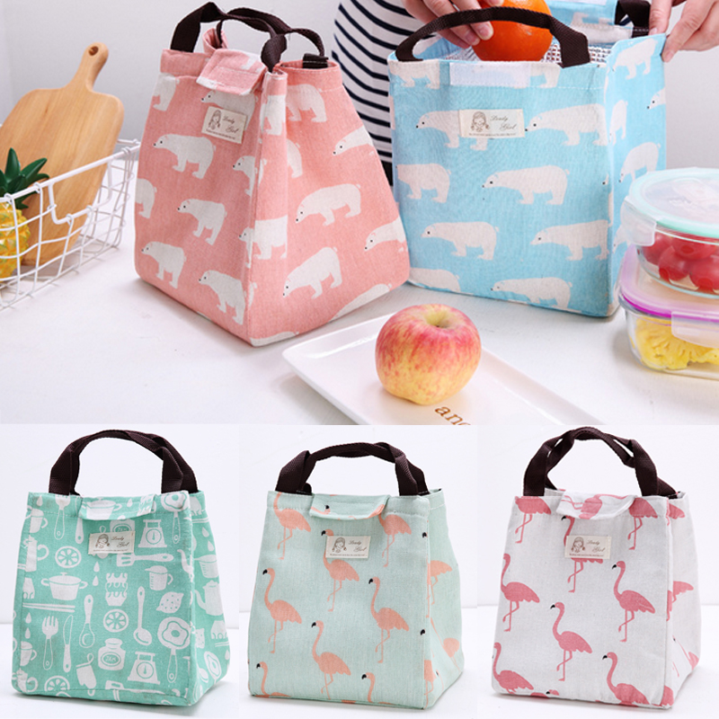Lunchboxes & Bags Childrens Kids Lunch Bags Insulated Cool Lunch Bag Picnic Bag School Lunchbox ww