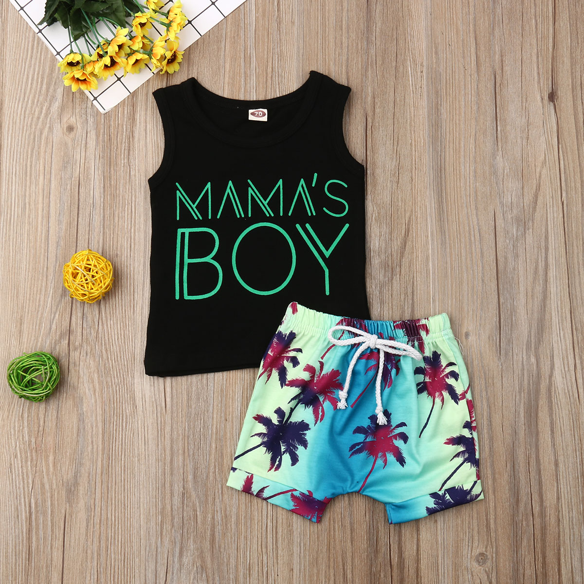 US 2PCS Toddler Baby Boy Gentleman Tops T-shirt Short Pants Outfits Set Clothes