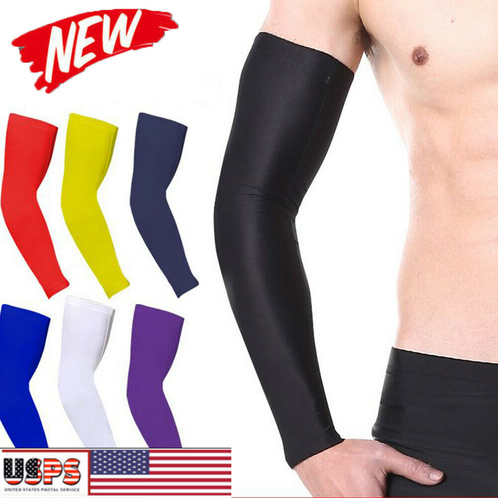 Arm Sleeve Basketball Hiking Elbow Support Compression Elasticated Arm protector